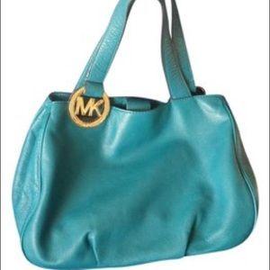 Michael michael kors NWOT Fulton purse turquoise